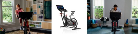 Bowflex® VeloCore™ (un) stationary, dual-mode bike redefines indoor cycling (IC) by including a stationary setting and lean mode. (Photo: Business Wire)