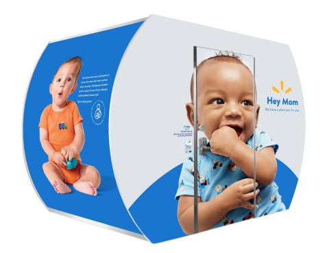 Walmart is the first retailer to install Mamava breastfeeding pods. They are free to use and give moms an additional private, secure choice to breastfeed or pump. (Photo: Business Wire)