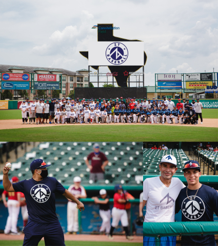 ZT Baseball tryouts with J.C. Correa at Skeeter Stadium (Photo: Business Wire)