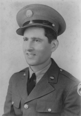 "Arnold Spielberg was a radio operator and chief communications man for the 490th Bomb Squadron, also known as the ""Burma Bridge Busters."" (Photo: Business Wire)"