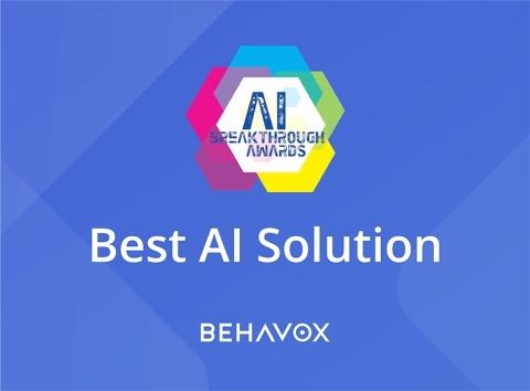 Behavox récompensé pour sa « Meilleure solution d'IA »