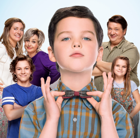 Top-Rated Sitcom Young Sheldon Joins Nick at Nite's Family Comedy Lineup in November (Photo: Business Wire)