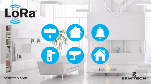 YoSmart LoRa-based smart home solutions (Graphic: Business Wire)