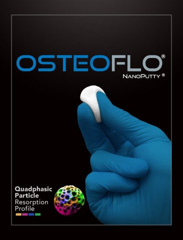 OsteoFlo® NanoPutty® (Quadphasic Synthetic Bone Graft) (Photo: Business Wire)