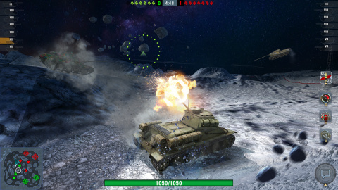 World of Tanks Blitz is available now for Nintendo Switch. New players who log in to World of Tanks Blitz on the Nintendo Switch system prior to Sept. 9 can collect a special free gift from the in-game shop. (Photo: Business Wire)