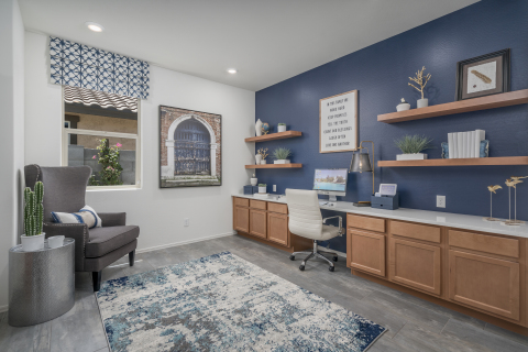 KB Home announces the grand opening of The Traditions at Verrado, the homebuilders first Phoenix-area community to offer the new KB Home Office. (Photo: Business Wire)