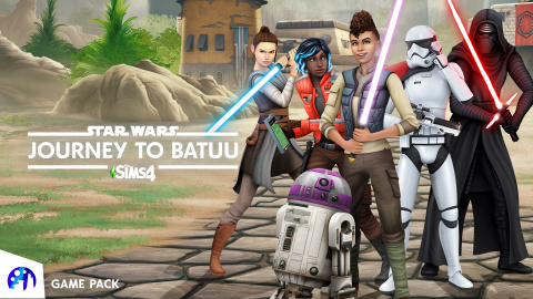 The Sims™ 4 Star Wars™: Journey to Batuu Game Pack (Graphic: Business Wire)