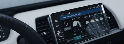 New Honda e and Jazz Cars in Europe to Feature In-Car Voice Assistant (Photo: Business Wire)
