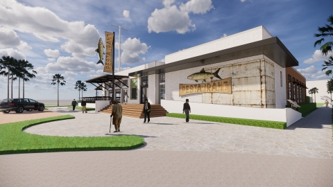 Artist rendering of planned restaurant. (Photo: Business Wire)