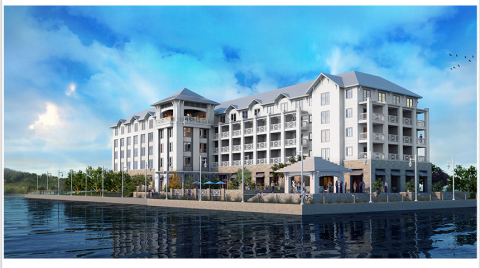 Artist rendering of planned hotel. (Photo: Business Wire)