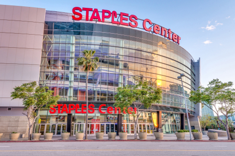 Los Angeles Lakers will host General Election Voting Center at STAPLES Center (Photo: Business Wire)