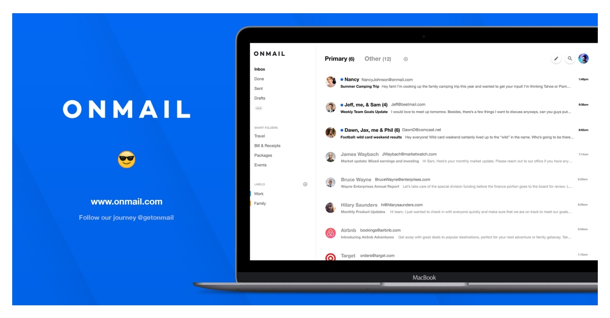 Get OnMail, A New Email Service by Edison That You Control & No Ad Targeting Allowed - RapidAPI