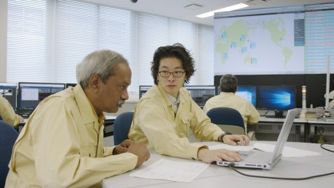 Mitsubishi Power continues its legacy of exemplary service with experts, including these employees at Takasago Works in Japan, ready to partner with customers to address business challenges and co-create the future of energy. (Photo: Mitsubishi Power)