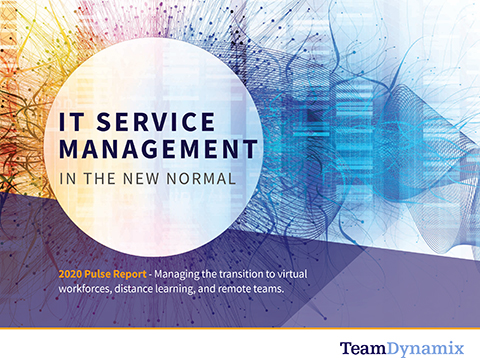 Market Study: ITSM in the New Normal