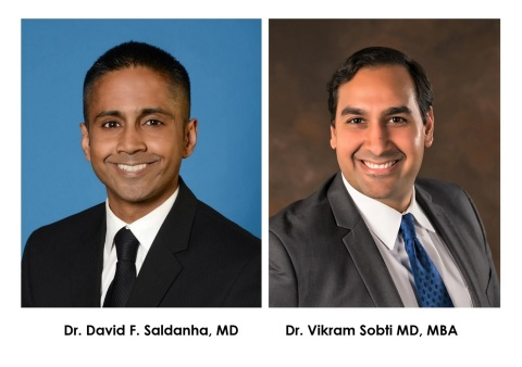 Forest City Diagnostic Imaging, LLC announced two incredible additions to their patient care team, Radiologists Dr. David F. Saldanha, MD and Dr. Vikram Sobti MD, MBA. (Photo: Business Wire)