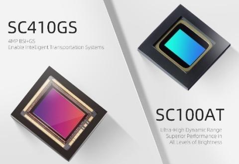 SmartSens SC410GS & SC100AT Image Sensors (Photo: Business Wire)