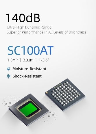 SmartSens SC100AT Specifications (Photo: Business Wire)