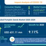 Pumpkin Seeds Market Analysis Highlights the Impact of COVID-19 (2020-2024) | Health Benefits of Pumpkin Seeds to Boost the Market Growth | Technavio