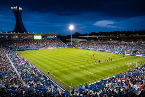Saputo Stadium, Canada's second largest soccer stadium and home of Major League Soccer's Montreal Impact, has deployed an Aruba network to deliver new gameday experiences to fans and improve operations. (Photo: Business Wire)