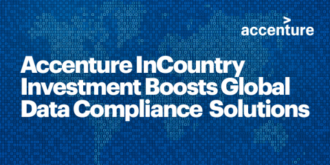 Accenture Ventures invests in InCountry (Graphic: Business Wire)