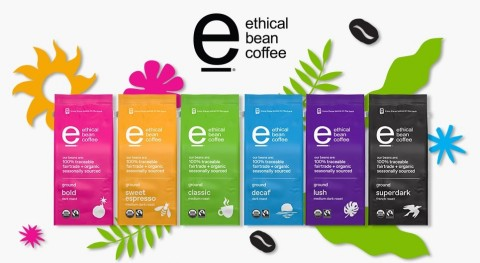 Ethical Bean rainbow of roasts (Photo: Business Wire)