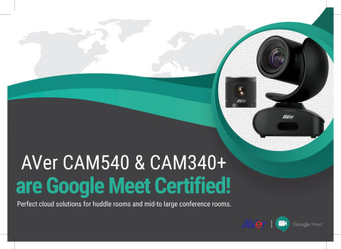 CAM340+ and CAM540 are Google Meet Certified (Graphic: Business Wire)