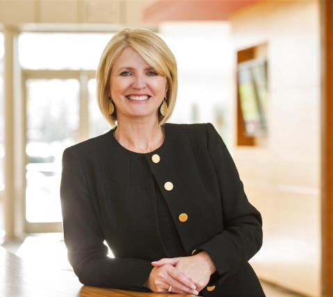 Karen Walker is senior vice president and chief marketing officer for Intel. (Credit: Intel Corporation)