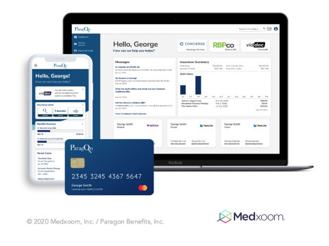 Medxoom and Paragon Benefits: Unified member & payments experience (Photo: Business Wire)