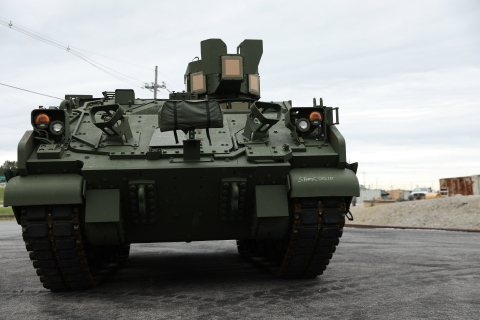 The AMPV Mission Command, delivered to the U.S. Army on Monday, August 31, is the cornerstone of the Army's Armored Brigade Combat Team Network modernization strategy. (Photo: BAE Systems)