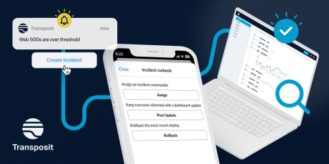 Transposit: Turn Alerts into Action With Mission Control for the Modern Stack (Graphic: Business Wire)