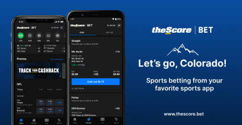 theScore Bet is now LIVE and accepting wagers in Colorado! (Photo: Business Wire)