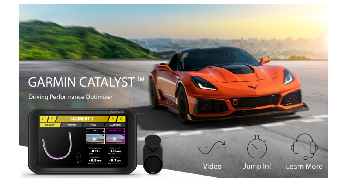 Garmin® shifts gears with the Garmin Catalyst driving performance optimizer  | Business Wire