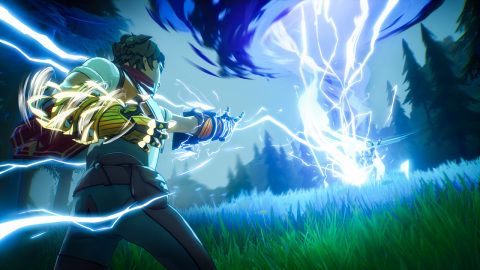 Harness the raw power of your gauntlets and tap into the unimaginable forces of the elemental planes in Spellbreak. (Photo: Business Wire)