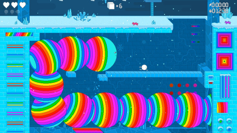 Descend deep into a new ecology in this side-scrolling, psychedelic platformer teeming with multiple pathways, luminous levels and complex obstacles in Spinch. (Photo: Business Wire)