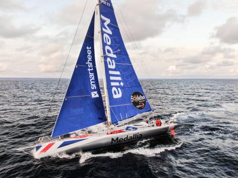 Smartsheet sponsors Pip Hare Ocean Racing (Photo: Business Wire)