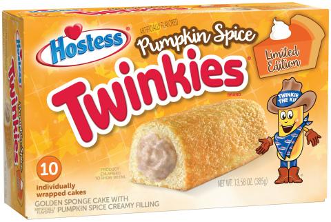 Hostess® Pumpkin Spice Twinkies®