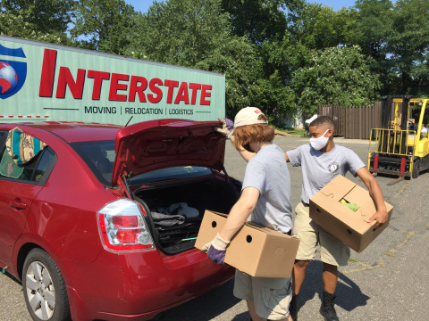 Interstate recently partnered with The Salvation Army in their fight against hunger and food insecurity in Northern Virginia. (Photo: Business Wire)