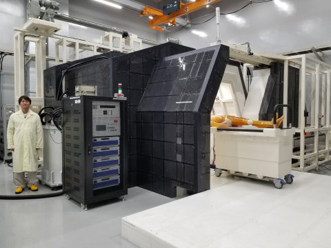 Photo of the SiC-BNCT clinical trial machine (Photo: Business Wire)
