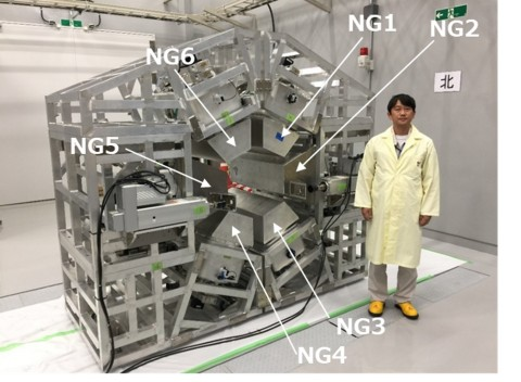 Photo of the 6-port irradiation system (Photo: Business Wire)