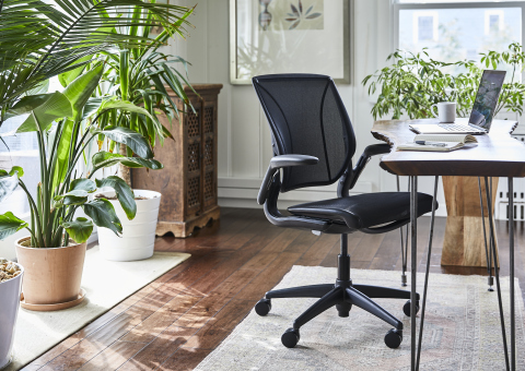 A new work-from-home exclusive from Humanscale, the World One chair is a must-have for all professionals in need of a more comfortable and ergonomic home workspace. (Photo: Business Wire)