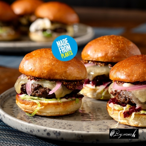 Bymark Street Burger and Bymark Classic Burger (Photo: Business Wire)