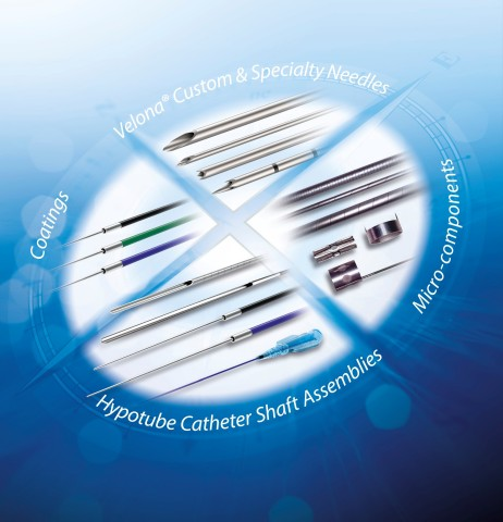 Cambus Medical develops and manufactures hypotubes, specialty needles, and metal micro-components for catheters and minimally invasive devices. (Graphic: Business Wire)