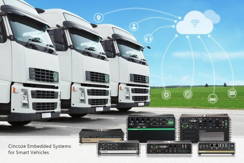 Cincoze Embedded Systems for Smart Vehicles (Photo: Business Wire)