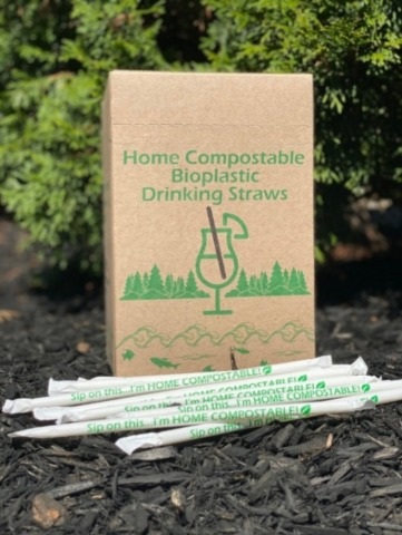 UrthPact's Revolutionary Home Compostable Straws Now Are Shipping to Brands & Distributors. (Photo: Business Wire)