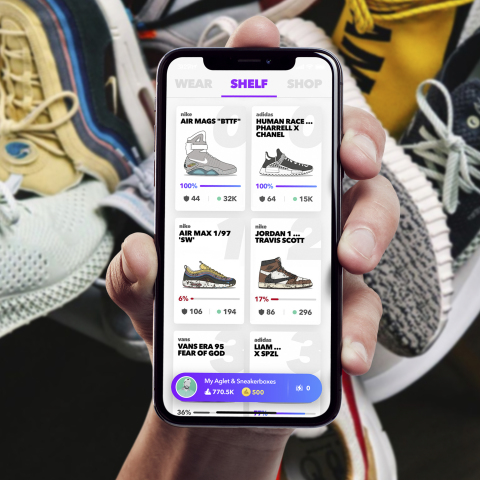 Aglet Introduces $100,000 In Free Sneaker Giveaways Over 12 Months (Photo: Business Wire)