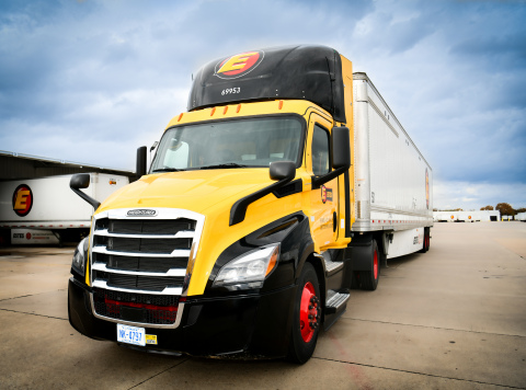 Estes Express Lines has partnered with Clean Energy to add 50 near clean trucks to its fleet. (Photo: Business Wire)
