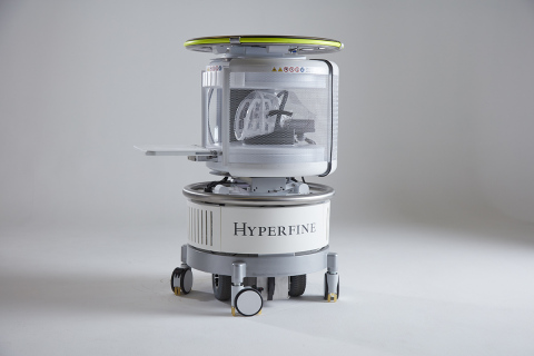 Hyperfine's Swoop™ Portable MRI System successfully detects abnormalities at bedside of critically-ill patients in intensive care unit settings. (Photo: Business Wire)