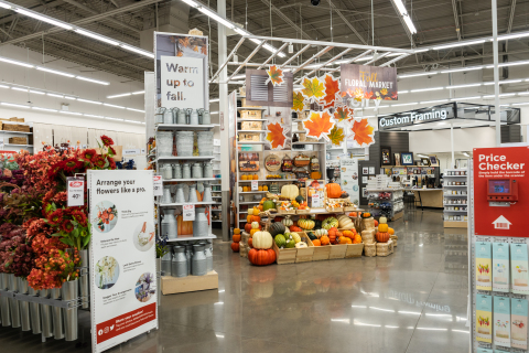 Fall Floral Market (Photo: Business Wire)