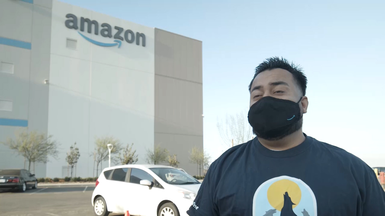 This interview is with David Ortiz from our Workforce Staffing Coordinator who discusses how candidates can apply for a job at Amazon.