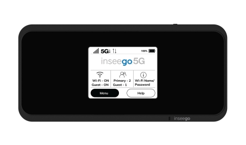 Inseego MiFi® M2100 5G UW mobile hotspot available at Verizon (Graphic: Business Wire)